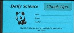 Science DD Check-ups 4/Panda