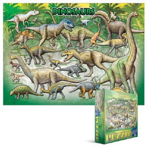 Dinosaurs 100 pieces