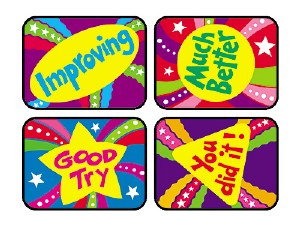 Encourage Excellence Stickers