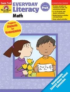 Math Everyday Literacy Pre K
