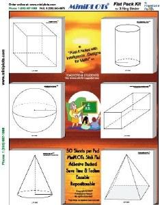 Geometry Flat-Pack (6 pads)