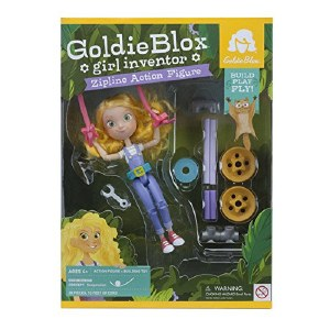 GoldieBlox Girl Inventor Zip