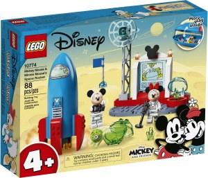 Mickey Mouse Space Rocket10774