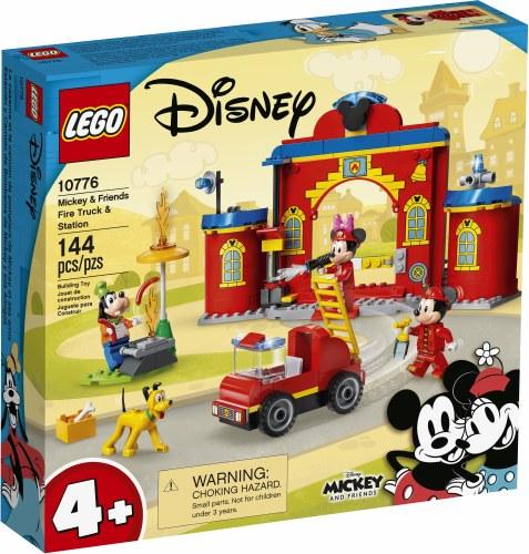 Mickey Fire Truck & Statn10776