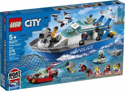 Police Patrol Boat 60277