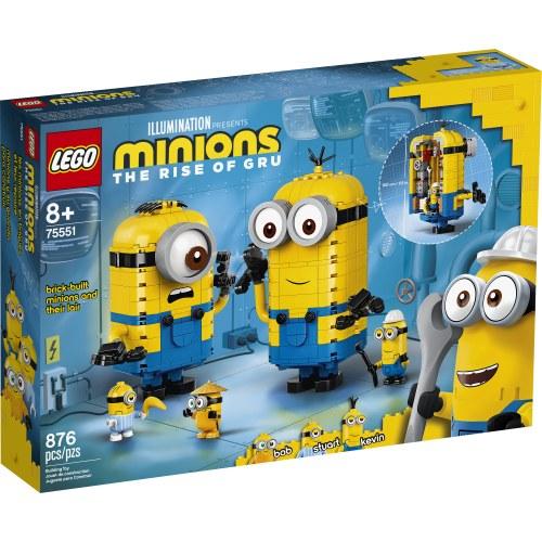Brick-Built Minions & Lr 75551