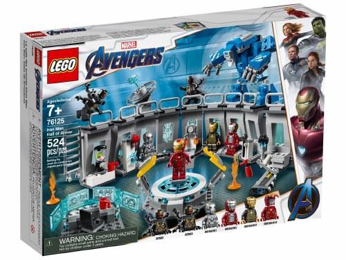 Iron Man Hall of Armor 76125