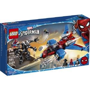 Spiderjet vs Venom Mech 76150