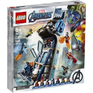 Avengers Tower Battle 76166