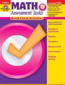 Math Assessment Tasks K/nmg