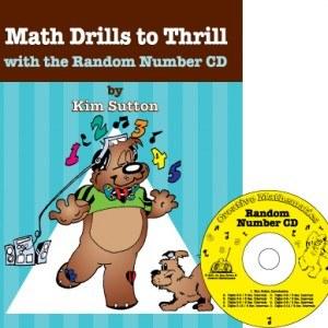 Math Drills to Thrill w/CD-ROM