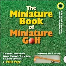 Miniature Book/ Miniature Golf