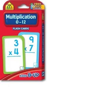 Multiplication 0-12 Flash Crds