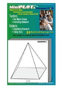Pyramid-Plot Graphing Pad