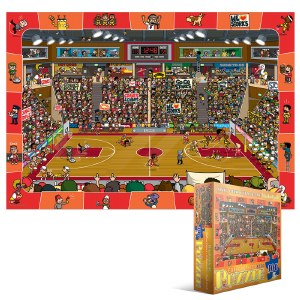 Basketball spot & Find 100 pc