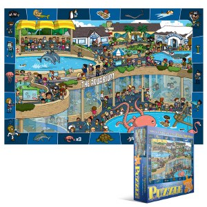Crazy Aquarium 100-pc