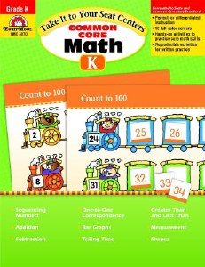 Common Core Math Centers K