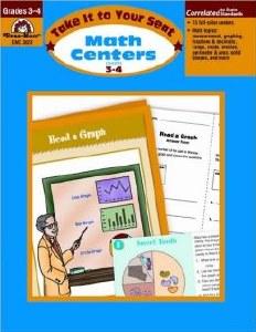Math Centers 3-4