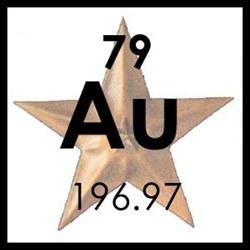 Tattoo Gold Star  (Au)