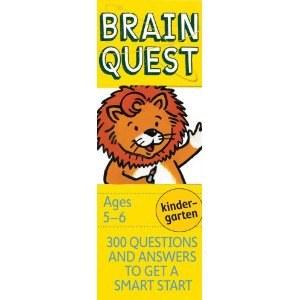 Brain Quest K/Ages 5-6  4e