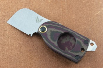 Benchmade 381 Aller Fumee Friction Folder - S30V Stainless Blade - Richlite Handle
