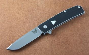 Benchmade 601 Tengu Flipper - CPM-20CV Blade - Contoured G-10 Handle