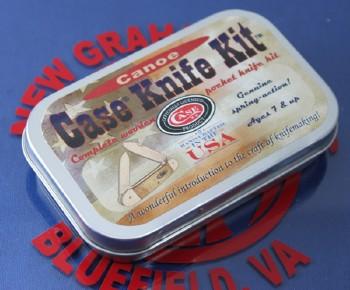 Case Canoe Wood Knife Kit