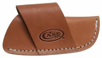 Genuine Case XX Large Side Draw Belt Sheath - Leather - Case Logo Embossed - 50232