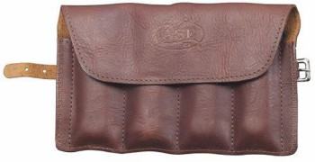Gentleman's Knife Roll - Leather - Anti-tarnish lining - Holds 4 Knives