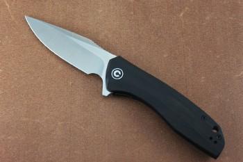 CIVIVI 801E Baklash Flipper - Linerlock - Black Ebony Wood Handles