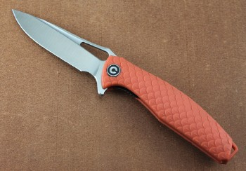 CIVIVI 902 Wyvern Flipper - Linerlock - Orange FRN Dragon Scale Handles