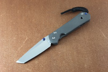 Chris Reeve Small Sebenza 21 Tanto with Doulbe Thumb Lugs