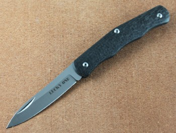 Cold Steel 55VPM Lucky One - CPM-S35VN Steel - Carbon Fiber Handles
