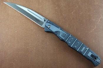 Cold Steel 62P3A Frenzy III - Gray/Black G-10 Handles - S35VN Blade Steel - Tri-Ad lock