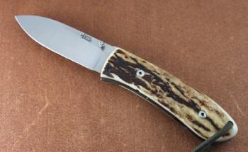 Dozier DK-FHL Large Folding Hunter Sambar Stag Handle Scales
