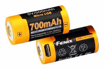 Fenix ARB-L16-700U USB Rechargeable 16340 Li-Ion Battery