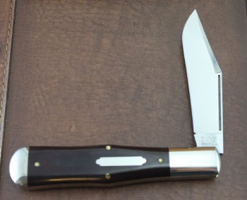 Great Easteren -Tidioute Cutlery - Allegheny - 1095 Carbon Steel - Maroon Linen Micarta - 971119M