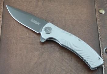 Kershaw Seguin - Assisted Opening - Flipper - Gray PVD Coating - KS3490