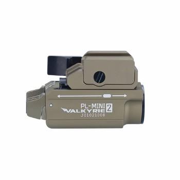 Olight PL-2 Mini 2 Valkyrie Weapons Light - Desert Tan - 600 Lumens Max