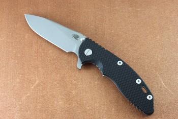 XM-18 3.5 Slicer Working Finish Tri-Way Pivot with Black G10