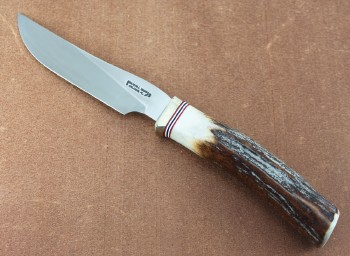 Randall Model 6-4 Hunter Stainless Steel Blade Stag Handle