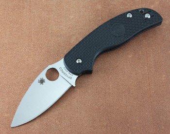 Spyderco Sage 5 Lightweight Black FRN Handles