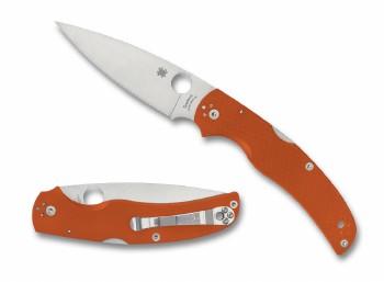 Spyderco Native Chief Burnt Orange G10 CPM REX 45 Sprint Run