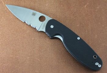 Spyderco Emphasis Partially Serrated