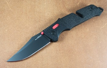 SOG 11-12-04-57 Trident AT Clip Point - Cryo D2 Blade - Assisted Opening - AT-XR Lock