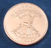 Molon Labe Copper Coin