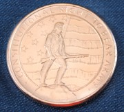 2nd Ammendment Copper Coin