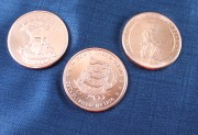 3 Piece Copper Coin