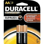 Duracel AA Batteries 2pk