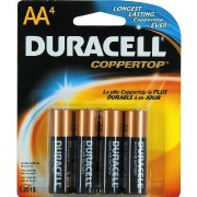 Duracel AA Batteries 4pk